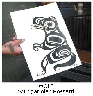 Edgar A Rossetti - Native Canadian Artist - L'artiste autochtone canadien